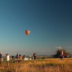 en scene la montgolfiere