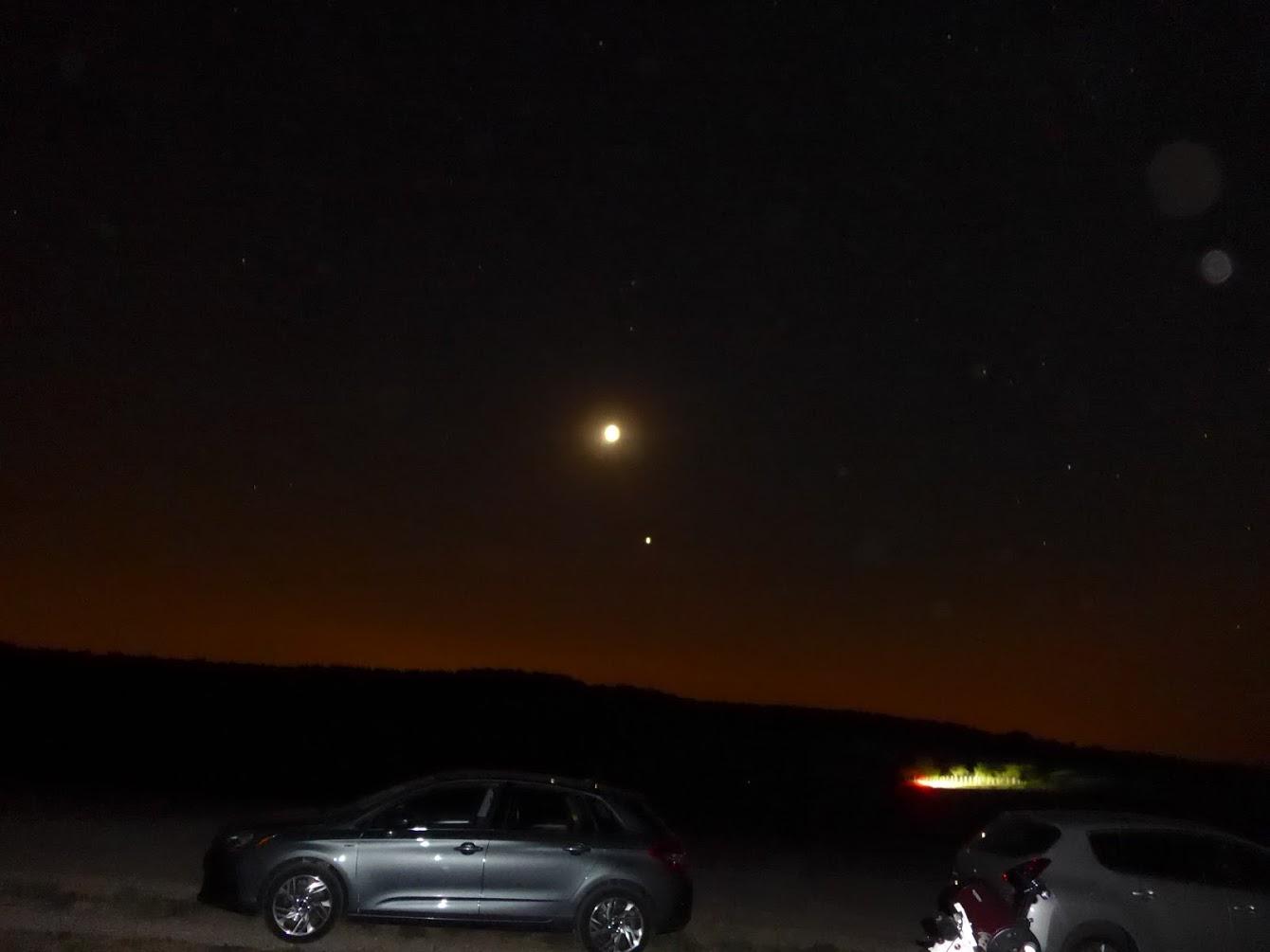 lune rousse et mars